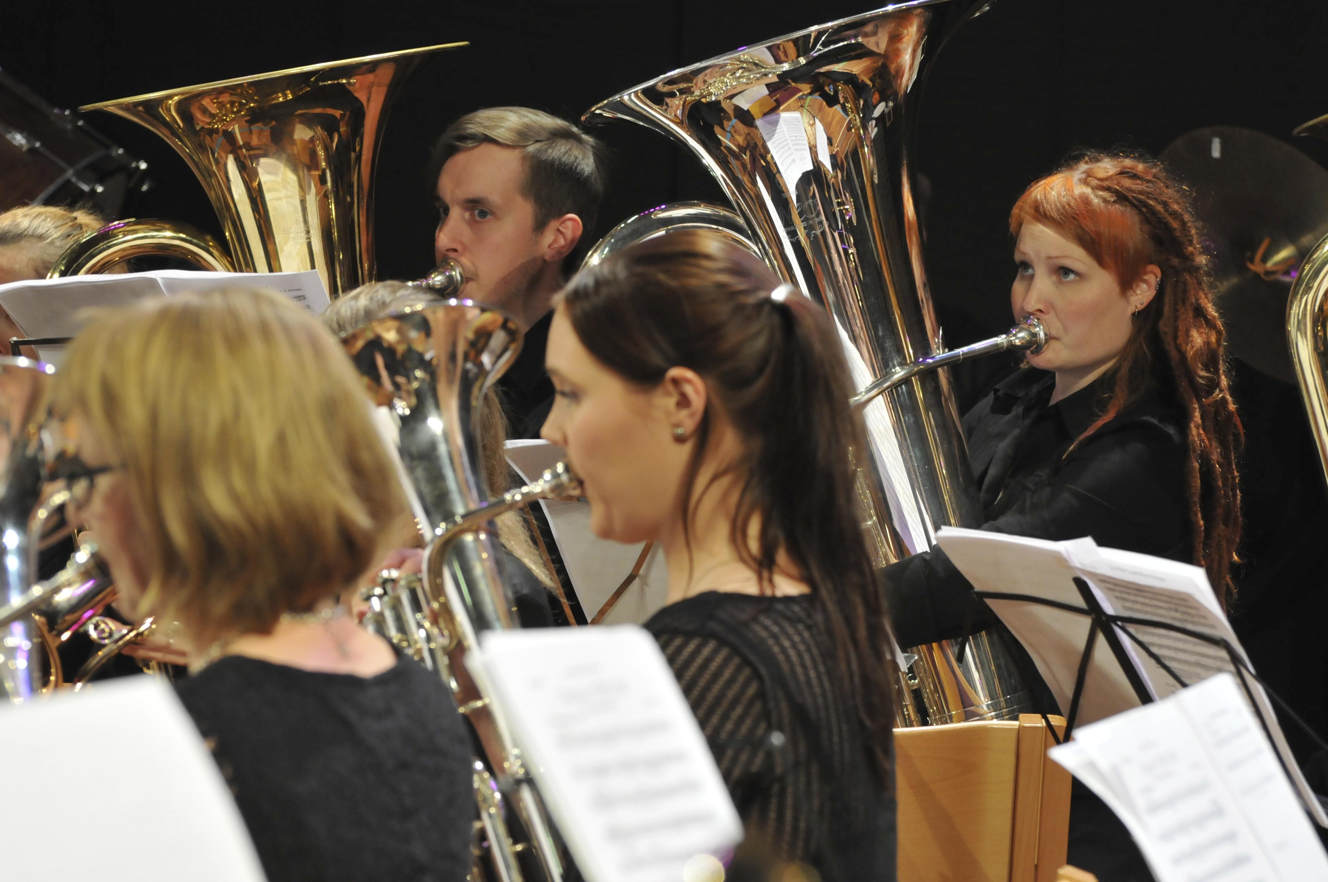 Studera brassband i Norge