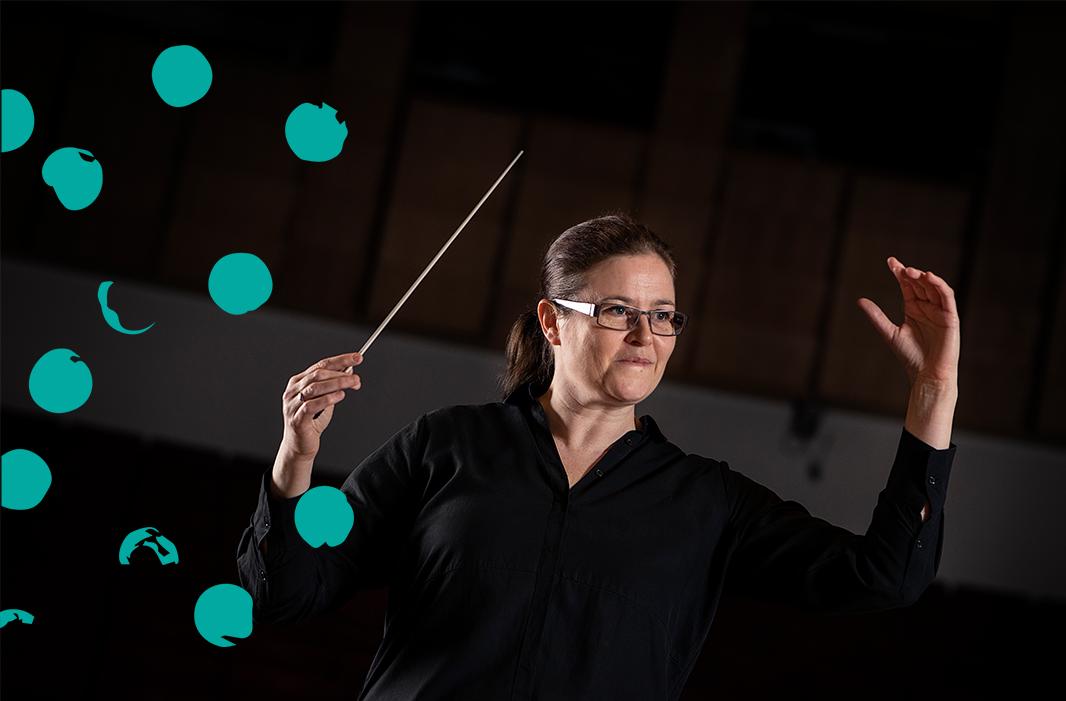 Dirigentkurs med Anna-Maria Helsing