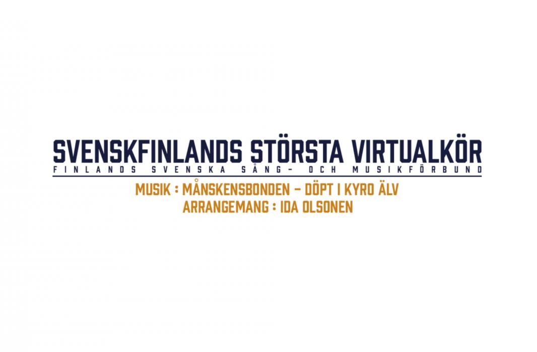 FSSMF arrangerar virtuellt körprojekt